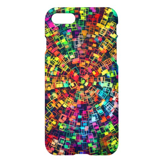 colourful patterned iPhone 7 case