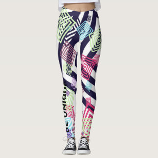 colourful patterns leggings