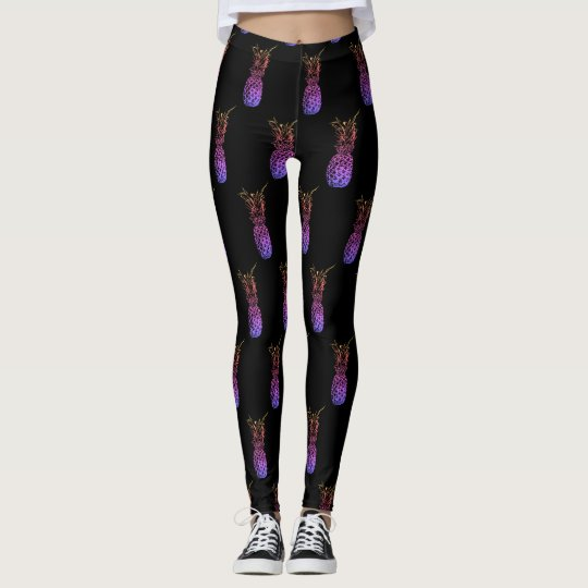 Colourful Pineapples Leggings