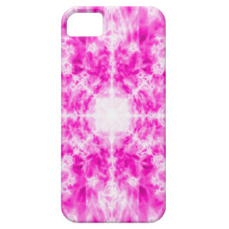 Colourful pink kaleidoscope pattern iPhone 5 case