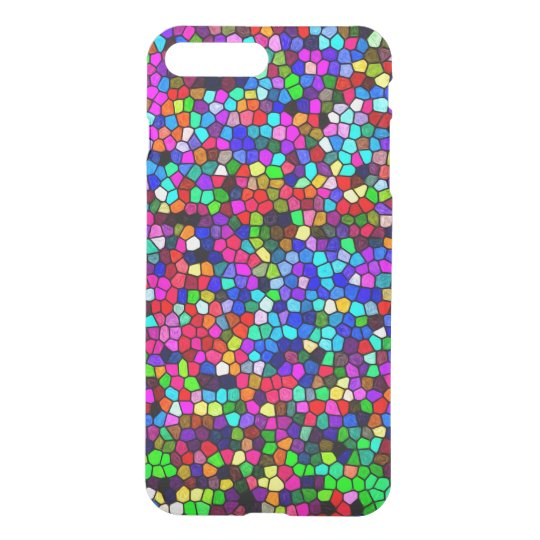 Colourful Pixels iPhone 7 Plus Case