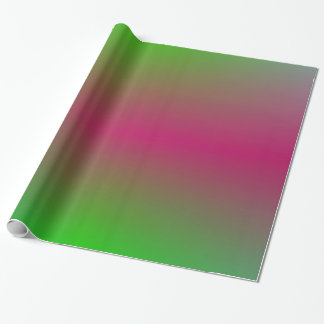 Colourful Plasma Clouds Wrapping Paper