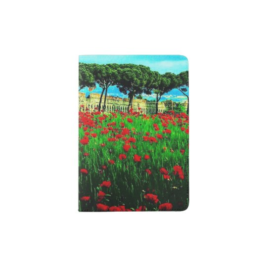 Colourful Pocketful Of Poises Passport Book Passport Holder