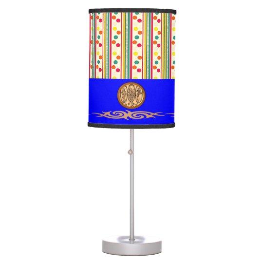 colourful pokadot circles decorative lamp