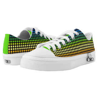 Colourful Polkadots Rainbow2 Low-Top Sneakers