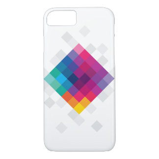 Colourful Polygon iPhone 7, Barely There iPhone 7 Case