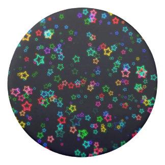 Colourful Pop Neon Star Eraser