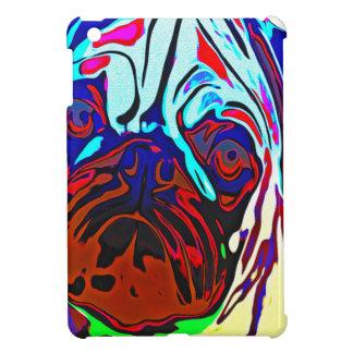 Colourful Pug iPad Mini Cases