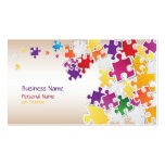 Colourful Puzzle Business Card