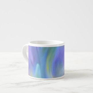 Colourful Rainbow Abstract Art Espresso Mug