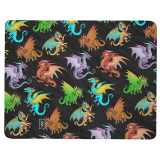 Colourful Rainbow Dragons School Journals