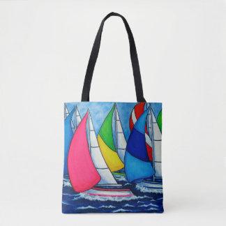 Colourful Regatta Bag By Lisa Lorenz