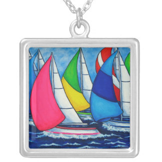 Colourful Regatta Necklace by Lisa Lorenz