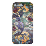 Colourful Retro Abstract Floral Collage Barely There iPhone 6 Case