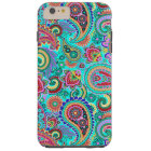 Colourful Retro Paisley 2a Tough iPhone 6 Plus Case