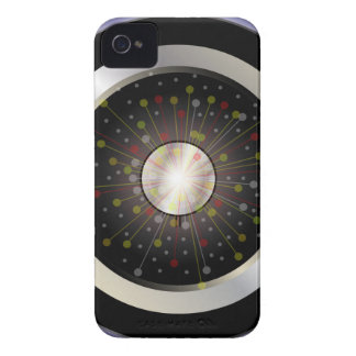 Colourful Rock Guitar Speaker iPhone 4 Covers