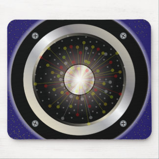 Colourful Rock Guitar Speaker Mouse Pad