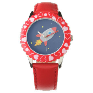 Colourful Rocket Ship, Outer Space, For Kids Watch