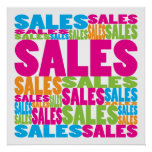 Colourful Sales Posters