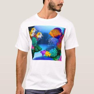 Colourful Saltwater Reef Aquarium Fish T-Shirt