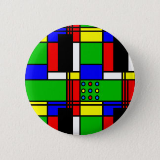 Colourful samples 2 inch round button