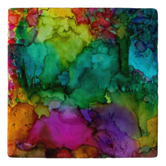 Colourful Scenery Trivet (You can Customize)