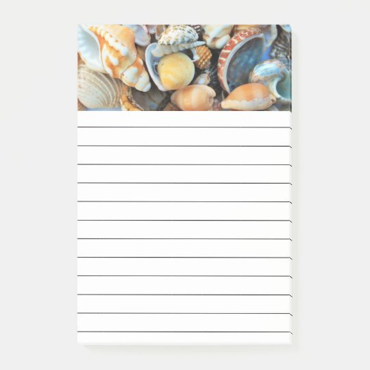 Colourful Sea Shells Post-it Notes