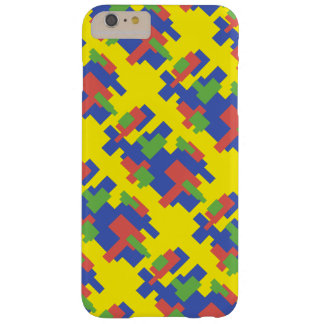 Colourful shape design barely there iPhone 6 plus case
