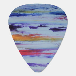 colourful sky clouds guitar picks