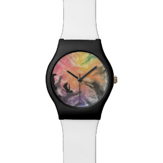 colourful sky dive watch