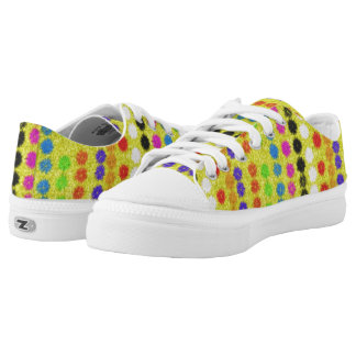 Colourful small Dots Low-Top Sneakers