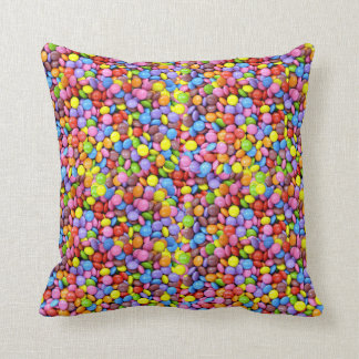 Colourful Smarties Sweet Candy Cushion