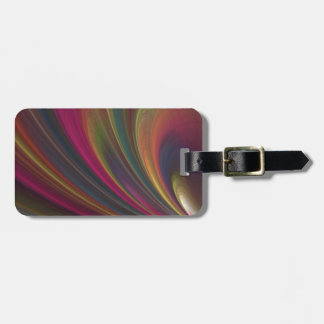 Colourful Soft Sand Waves Luggage Tag