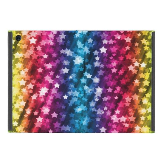 Colourful Sparkling Stars Case For iPad Mini