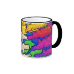Colourful Spine Art Mug