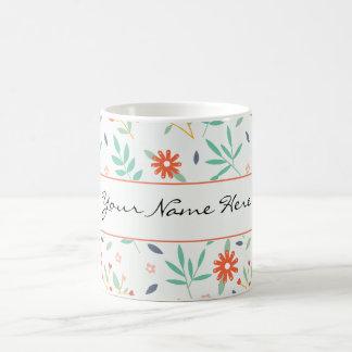Colourful Spring Flowers Wedding Theme Coffee Mug