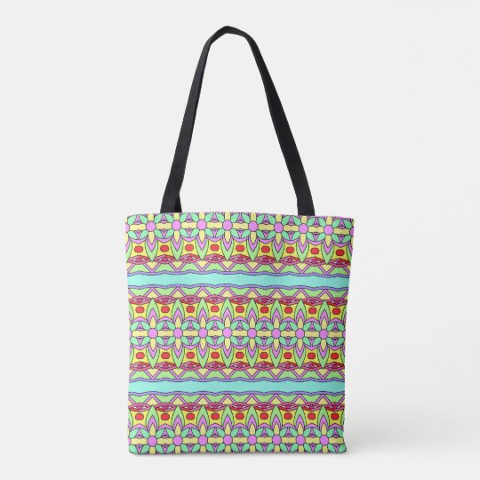 Colourful Springtime Tote Bag