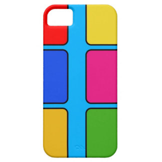 Colourful Squares Unique Design iPhone 5 Cases