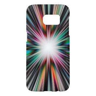 Colourful starburst explosion samsung galaxy s7 case