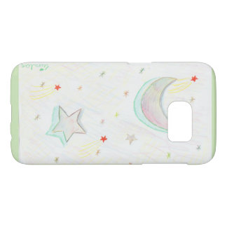 colourful starry sky samsung galaxy s7 case