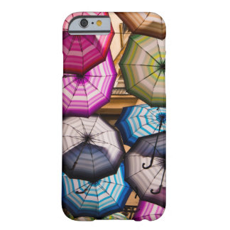 Colourful, Striped Umbrellas Barely There iPhone 6 Case