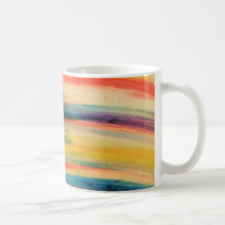 Colourful stripes coffee mug
