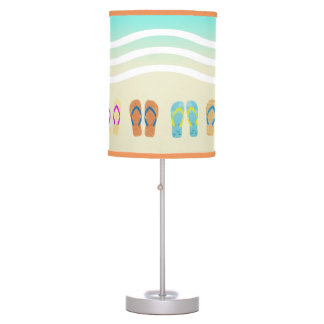 Colourful Summer Beach Flip Flops Lamp