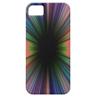 Colourful sunburst rays iPhone 5 cover