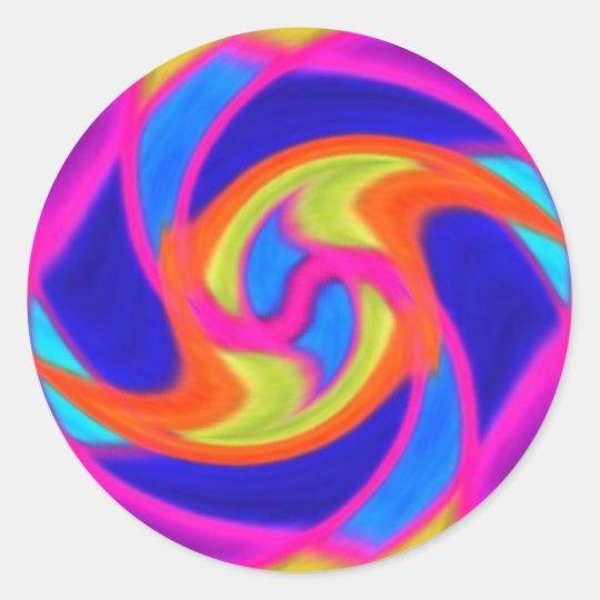 Colourful Swirl Stickers