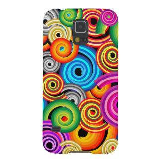 Colourful Swirls Samsung Galaxy Nexus Covers
