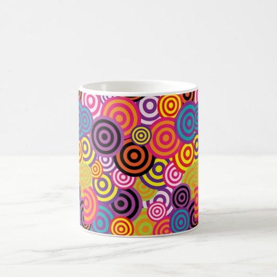 Colourful Target Circles Coffee Mug