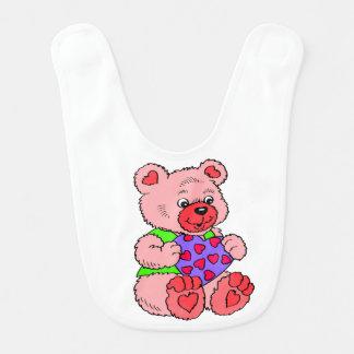 Colourful   Teddy Bears Bib