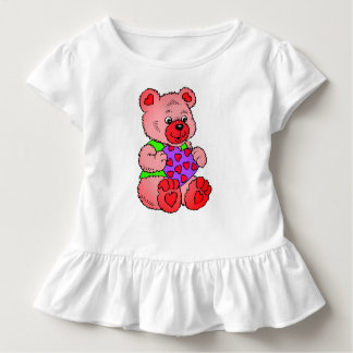 Colourful  Teddy Bears Toddler T-shirt
