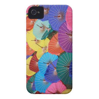 Colourful Thai Parasols - Blackberry Bold case